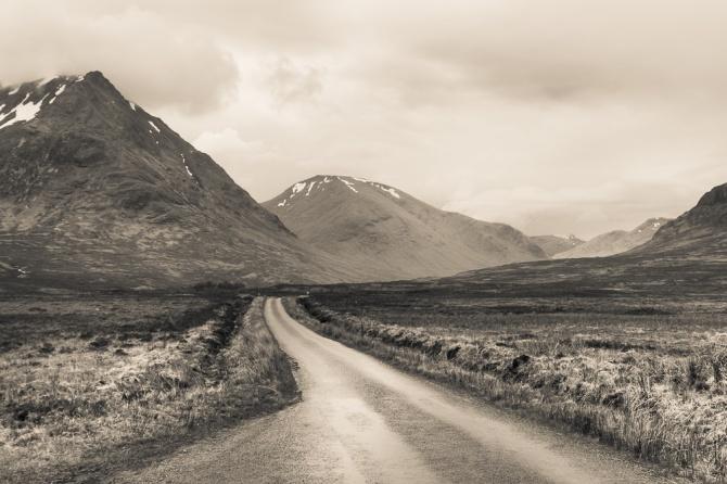 Glen Etive Mountains
